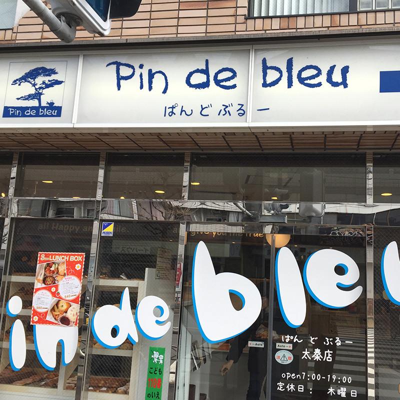 pin de bleu