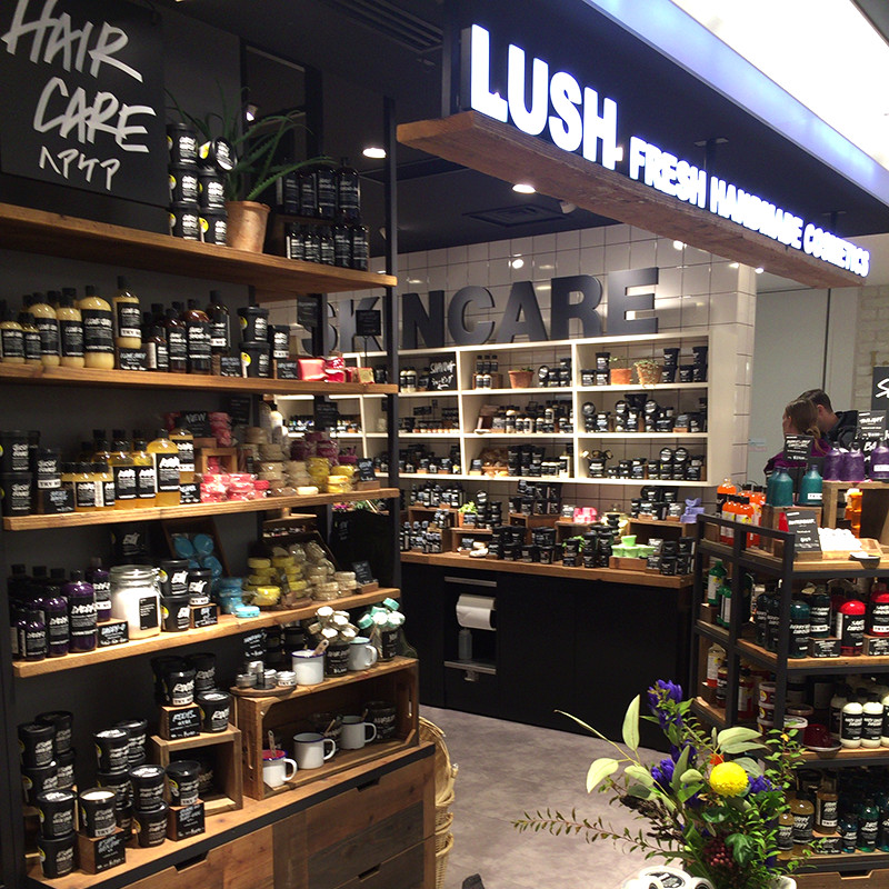 LUSH 京都 The CUBE店