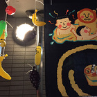 平安湯さんでは『京都銭湯芸術祭2015』の常設展示が盛りだくさん!