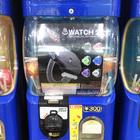 【小ネタ】銭湯のロッカーキーのような腕時計「♨︎ WATCH 2」。ガチャガチャで目にしました(´∀`∩)