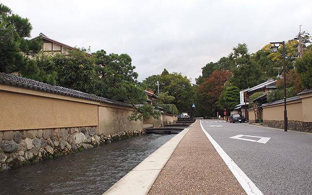 世界遺産・上賀茂神社近辺、社家...